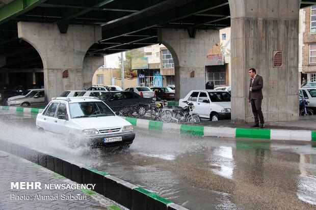 Recent rainfall in Semnan
