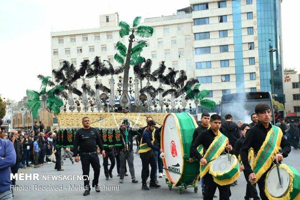 دسته های عزاداری در مشهد