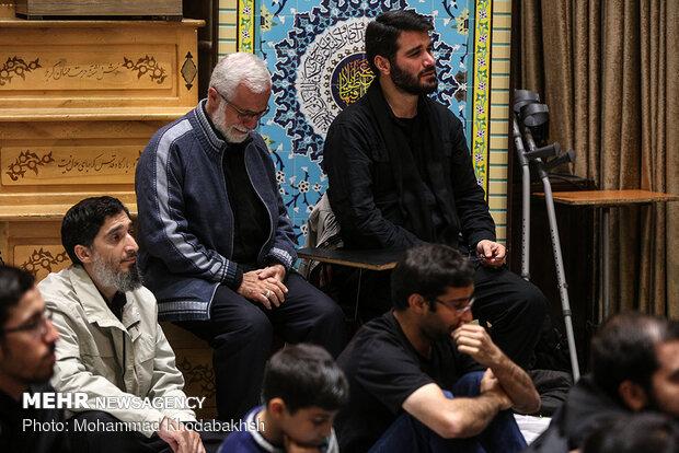 مراسم عزاداری رحلت حضرت رسول اکرم (ص) در امامزاده قاضی الصابر(ع)
