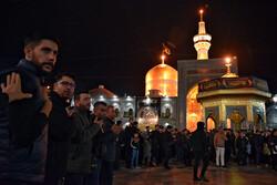 مراسم عزاداری شب رحلت پیامبر اکرم (ص) در مشهد