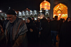 Mourning ceremony for passing anniversary of Prophet Muhammad (PBUH) in Mashhad