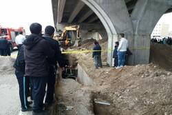 خاکبرداری در حاشیه پل داروپخش اردبیل ۲ کشته و مصدوم برجای گذاشت