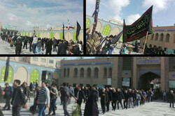 مراسم عزاداری ۲۸ صفر در سطح استان تهران برگزار شد
