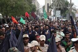 تجمع دستهجات عزاداری در بوشهر برگزار شد
