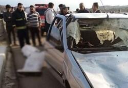تصادف زنجیره ای در تبریز ۳ کشته داد