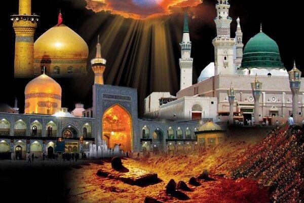 برگزاری مراسم عزاداری رحلت پیامبر گرامی اسلام در بروجرد