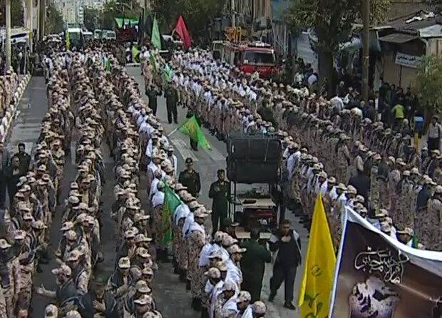 مراسم اقامه عزای ۲۸ صفر در کرمانشاه برگزار شد
