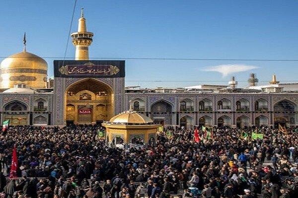 عزاداری هیئت ناشنوایان شهرستان شاهرود در مشهد