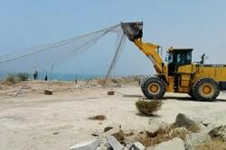 رفع تصرف ۵۷۷۵ متر مربع از اراضی دولتی در استان قزوین