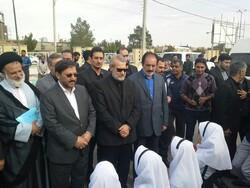 علی لاریجانی وارد استان سمنان شد/ استقبال در دامغان