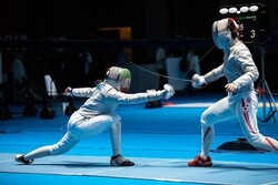Iran finishes vice champion in Asian U-23 Fencing C'ship