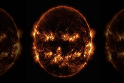ناسا تصویری ترسناک از خورشید منتشر کرد!