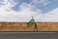 پیاده روی زائران امام رئوف (ع)
