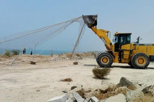 ۳۷ هزار و ۹۲۴ مترمربع از اراضی دولتی بوشهر رفع تصرف شد