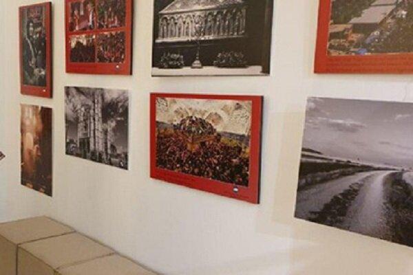 نمایشگاه «دو مسیر زیارتی برای صلح» برگزار شد