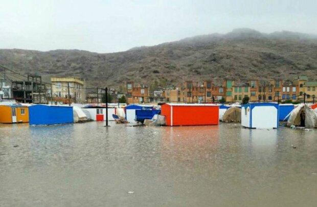 بارندگیهای اخیر خسارتی برای زلزلهزدگان سرپلذهاب نداشت