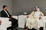 جهرمي يبحث مع رئيس الوزراء القطري التعاون بين ايران وقطر في مجال مونديال 2022