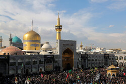 Martyrdom anniv. of 8th Shia Imam in Mashhad