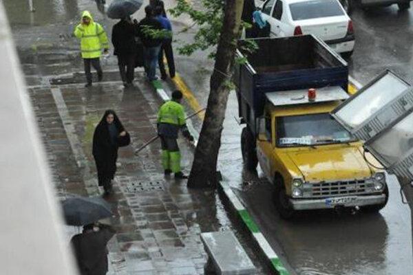 آغاز بارندگی در برخی از استانهای کشور/ آسمان تهران صاف است
