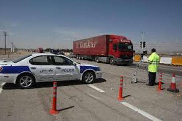 ممنوعیت ورود کامیون ها به تهران به دلیل استمرار آلودگی تمدید شد
