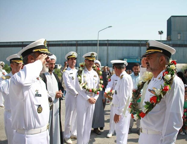 Iranian Army Navy dispatches 64th fleet to intl. waters