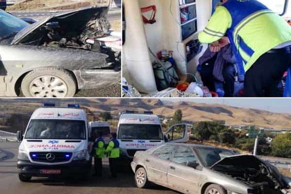 ۲۱۲ نفر در تصادفات خراسان جنوبی جان باختند/مجروح شدن ۱۸نفر در روز