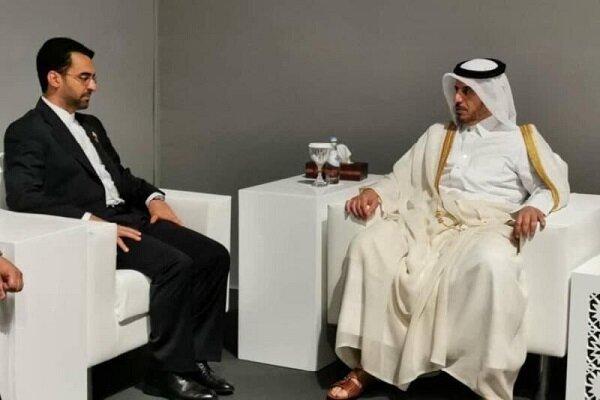 Iran, Qatar discuss IT coop. in Doha