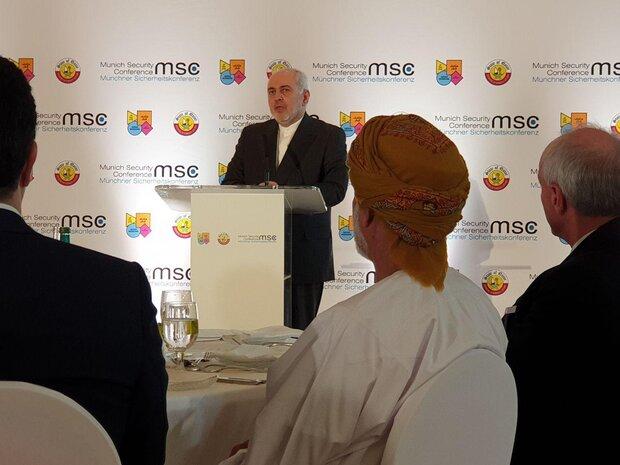 """ظريف يكشف عن أهداف وتفاصيل مبادرة """"هرمز للسلام"""""""