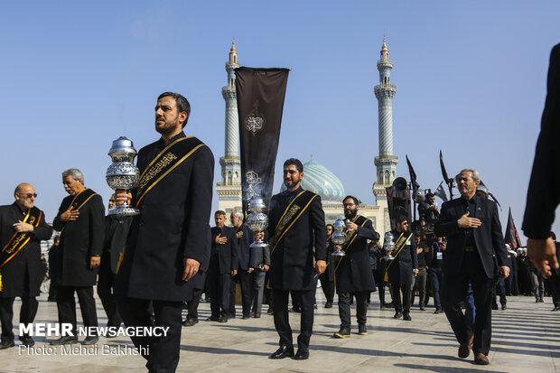 Mourning martyrdom anniv. of Imam Reza (PBUH) in Qom