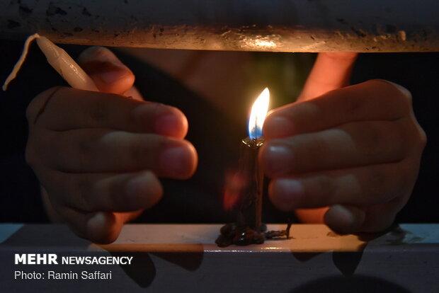 مراسم شام غریبان شهادت امام رضا(ع)