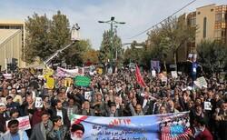 مسیر راهپیمایی یومالله ۱۳ آبان در کرمانشاه مشخص شد