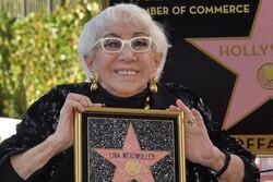 کارگردان ۹۱ ساله ستارهدار شد/ لینا ورتمولر در پیادهروی مشاهیر