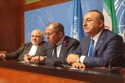 İran, Türkiye ve Rusya'dan 'Suriye'nin toprak bütünlüğüne saygı' vurgusu