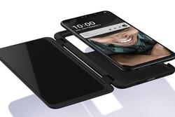 ال جی موبایلی با نمایشگر ثانویه به بازار عرضه می کند