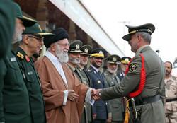 مراسم دانشآموختگی دانشگاههای افسری ارتش با حضور فرمانده کل قوا
