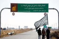 رشد ۱۴/۵ درصدی آمار ورودی زائران پیاده به مشهد در دهه پایانی صفر