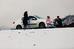 Hemedan'da kar yağışı etkisini göstermeye başladı