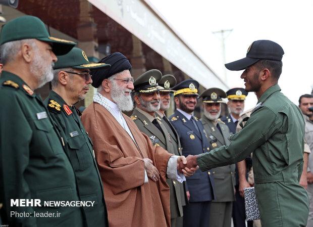 graduation ceremony of Army students