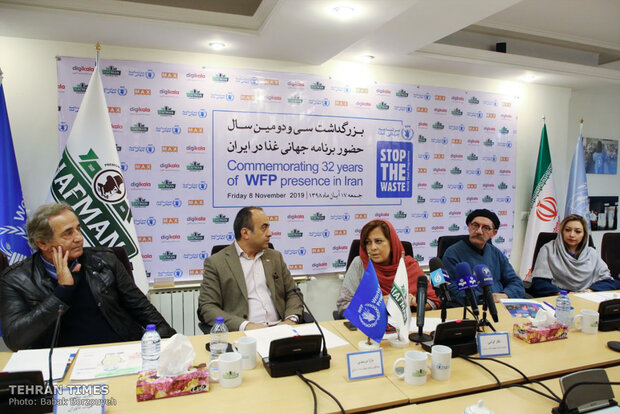 Cineastes, artists welcome 32th anniversary of WFP presence in Iran