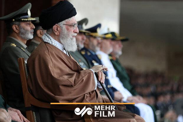 بخشی از سخنان رهبر انقلاب در دانشگاه خاتم الانبیاء ارتش
