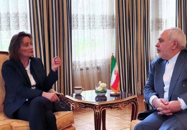 Zarif meets Swiss state secretary in Geneva