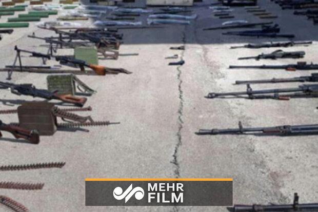 شام کے علاقہ القلمون سے بڑی مقدار میں اسلحہ برآمد