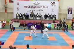 مسابقات بین المللی کاراته گلستان کاپ آغاز شد