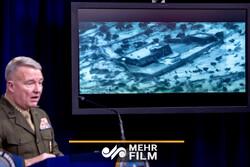 فیلمی ادعایی امریکا از لحظه ترور سرکرده داعش