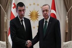 Erdoğan Gürcistan Başbakanı Gakharia ile görüştü.