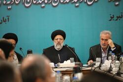 ایرانی عدلیہ کے سربراہ کا دورہ تبریز