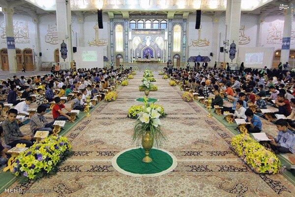 برگزاری محفل انس با قرآن یادبود شهدای جبهه مقاومت و سانحه هوایی