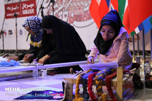Foreign ambassadors attend pistachio, Kilim celebration in Sirjan, Kerman