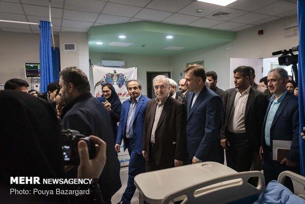 سفر سعید نمکی وزیر بهداشت، درمان و آموزش پزشکی به گیلان