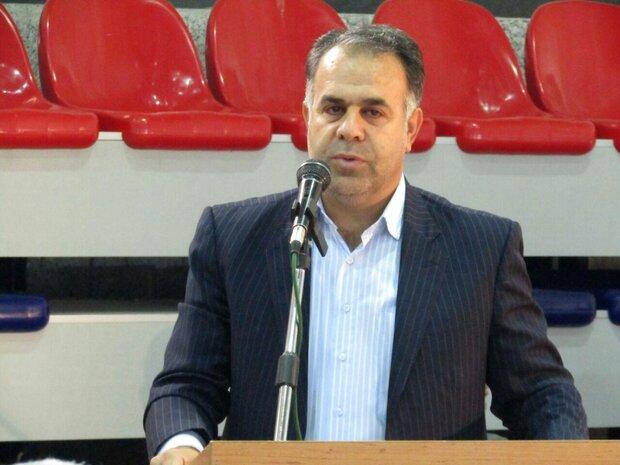 میانگین سرانه فضای سرپوشیده ورزشی آموزشی استان سمنان ۰.۳۶درصد است